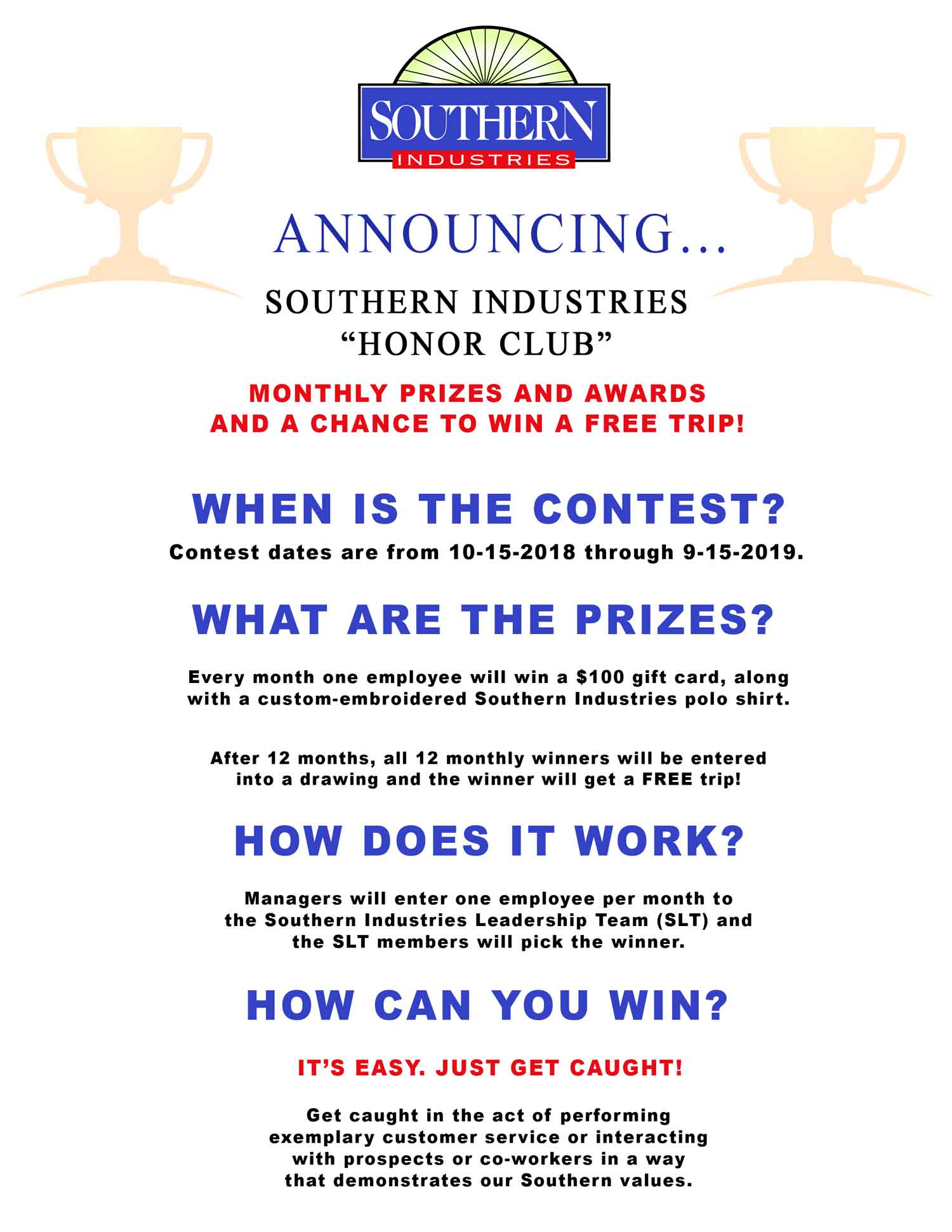 Rewards Why Southern